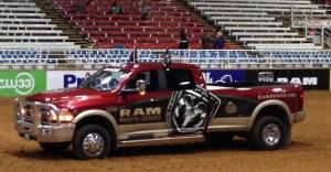 RAM Rodeo truck