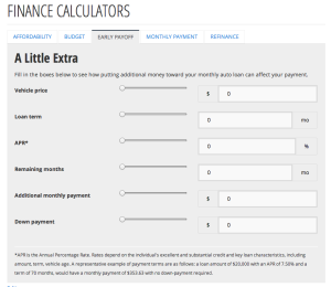 First-time car buyer's battle of the budget – finance calculators reporting for duty.3