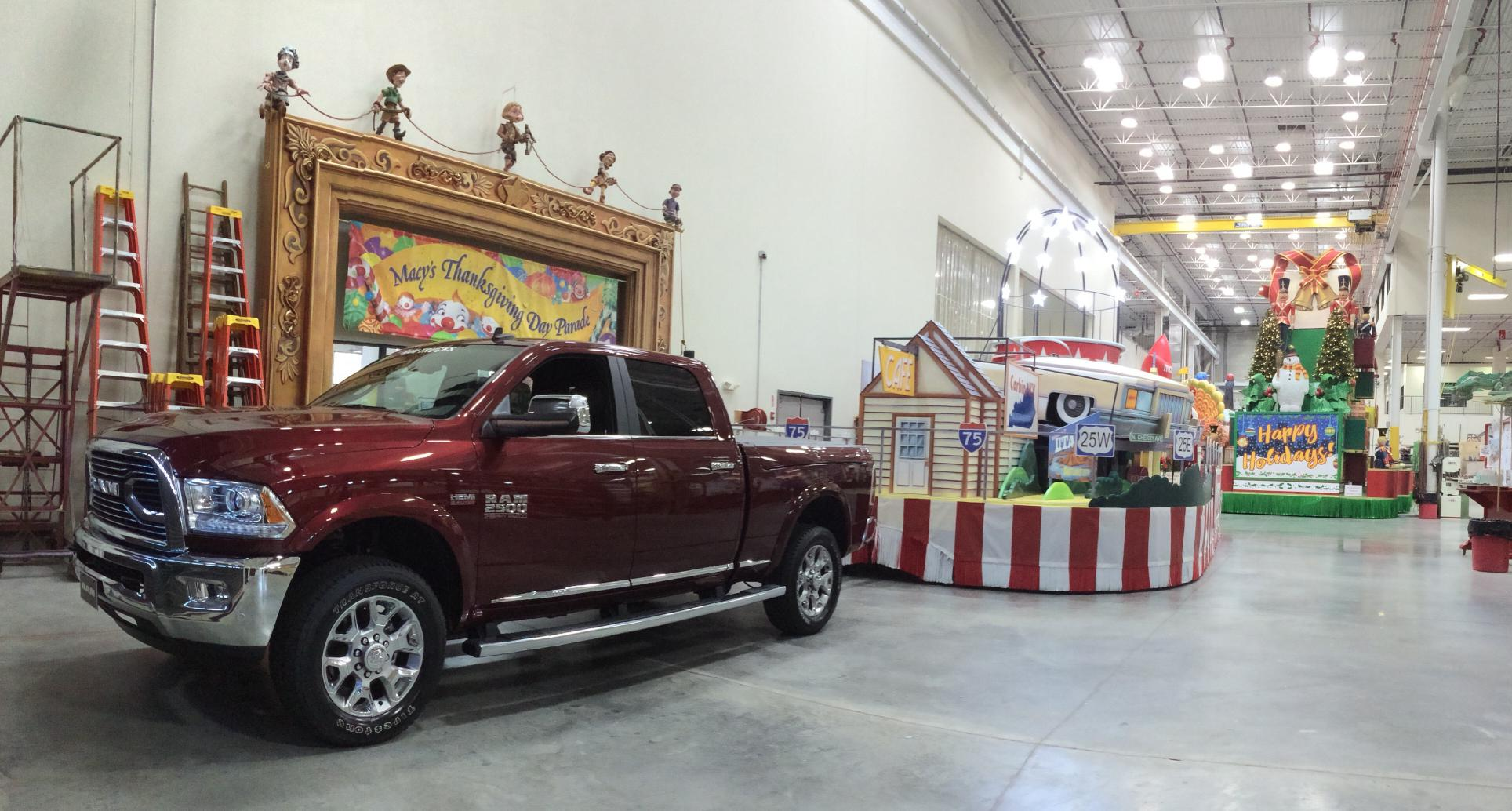 Ram trucks joins Thanksgiving Day tradition