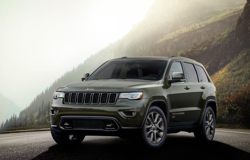 2016 Jeep® Grand Cherokee75th Anniversary edition