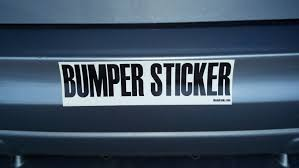 072716 CC What does your bumper sticker say about you 9