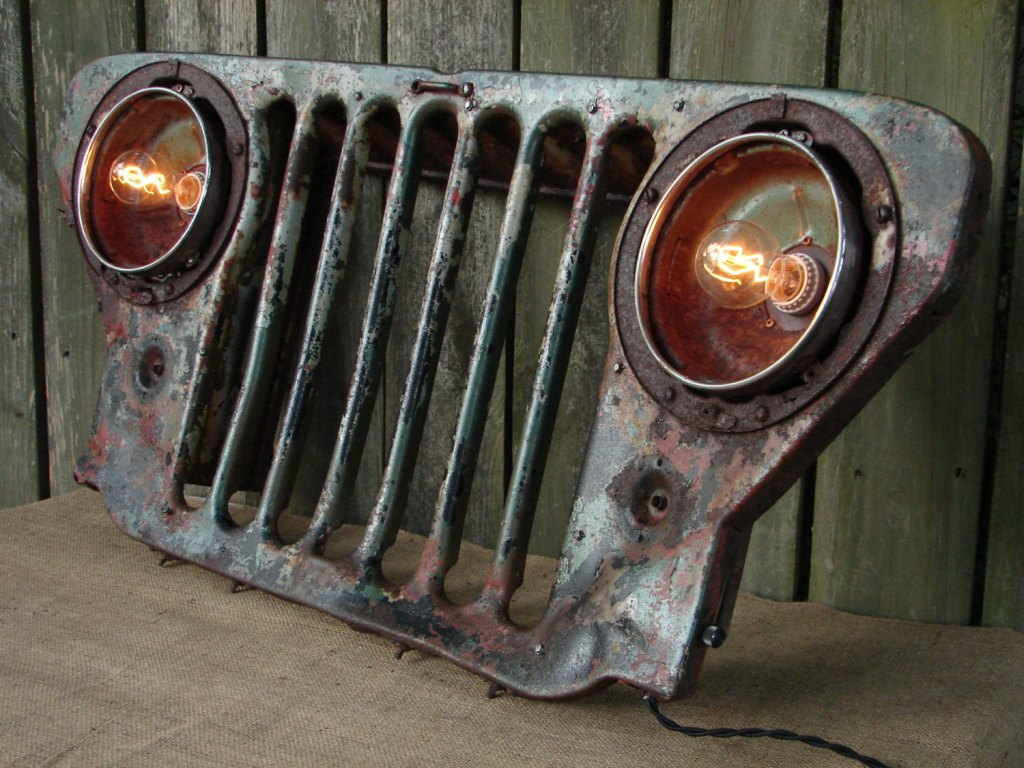 Upcycle your recycling with great ideas for old car parts | Chrysler ...