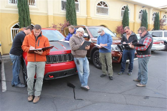 The 2017 Jeep Grand Cherokee Trailhawk impressed all of the FOUR WHEELER judges. Photo courtesy of FOURWHEELER.com