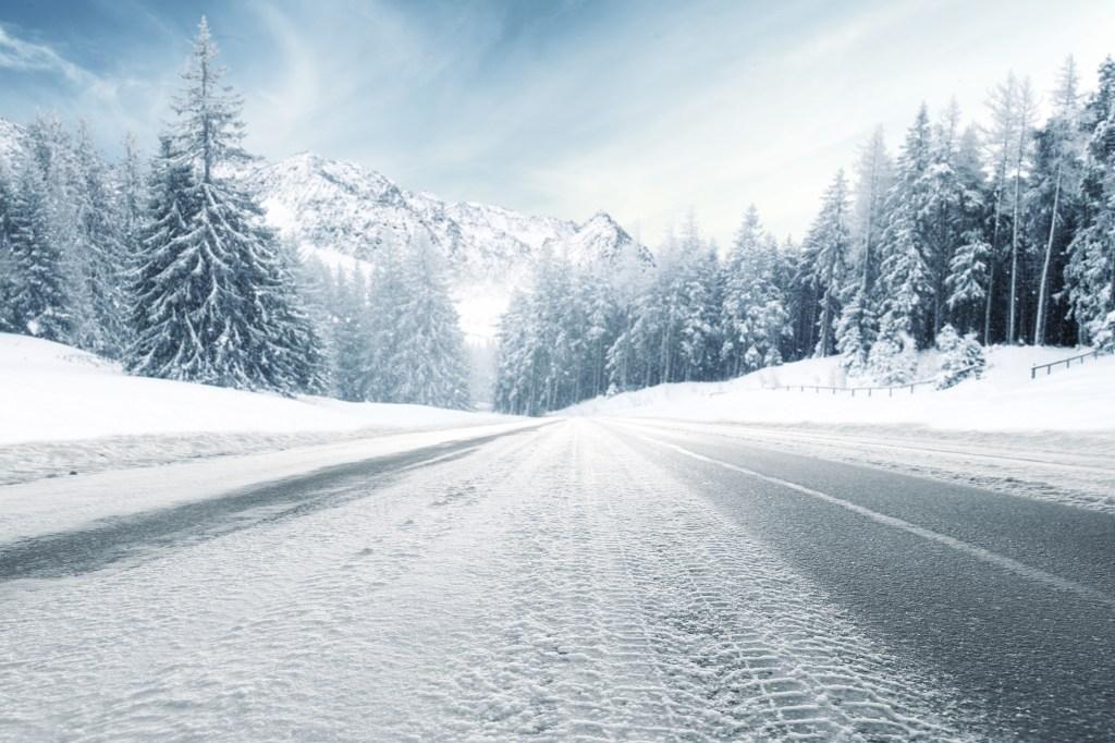 Vehicle prep icy road