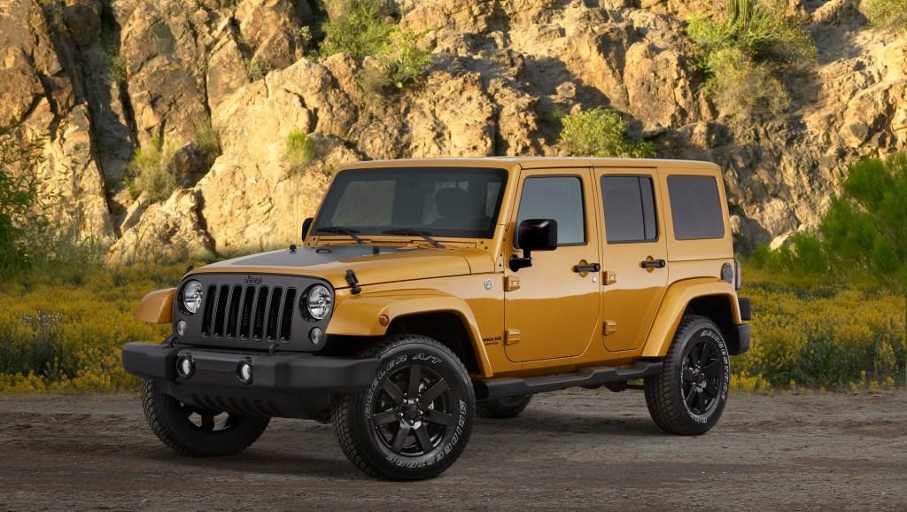 Jeep Wrangler Unlimited Lowest Depreciation