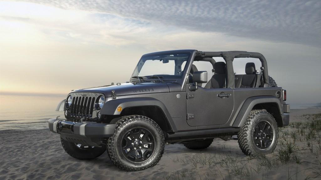 Jeep Wrangler Lowest Depreciation