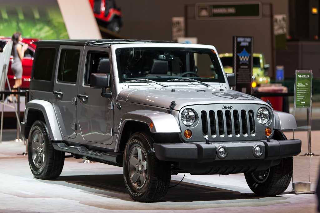 Jeep Wrangler lowest depreciation