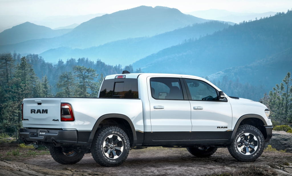 Ram 1500 green truck of the year