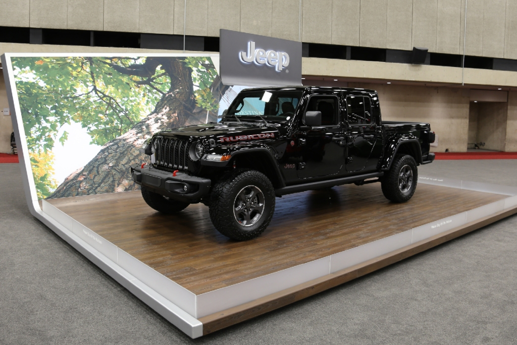 Jeep Gladiator, FCA US LLC DFW Auto Show
