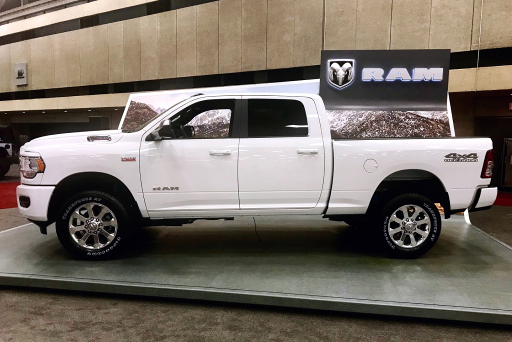Catch a special glimpse of the 2019 Ram Heavy Duty Lone