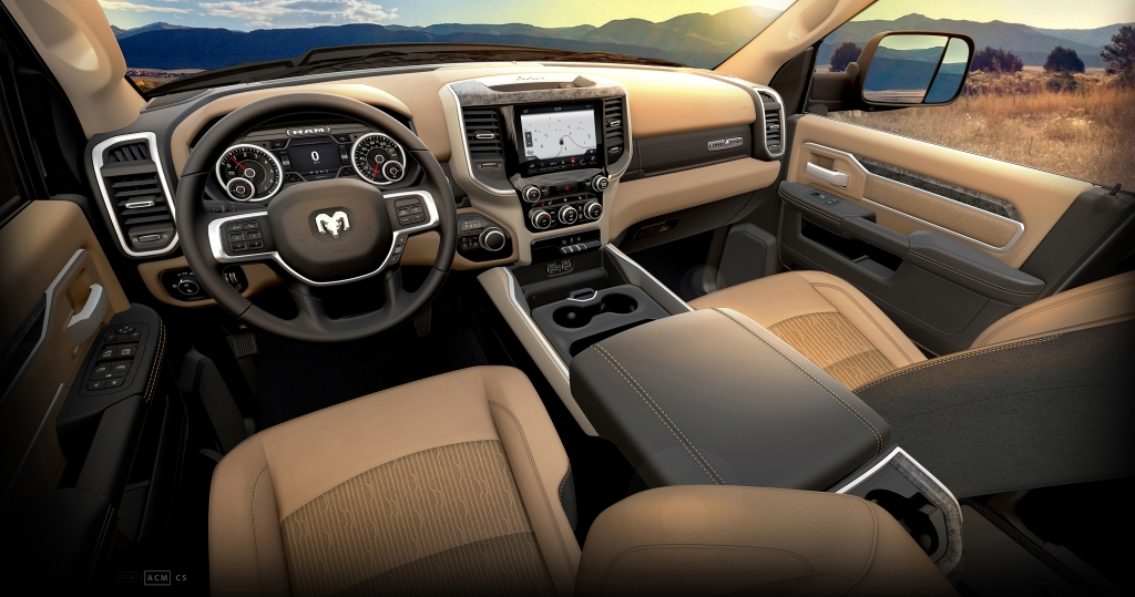 Ram Heavy Duty Lone Star Interior