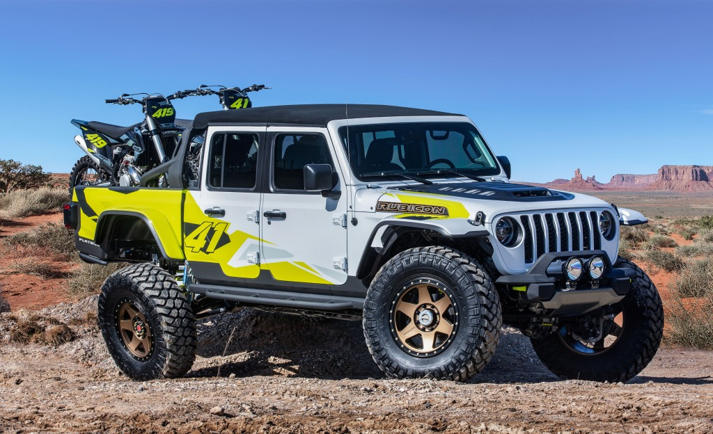 Jeep Flatbill side view
