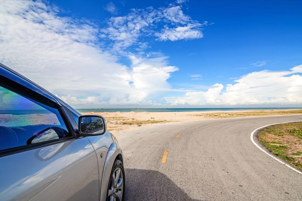 Beach road trip
