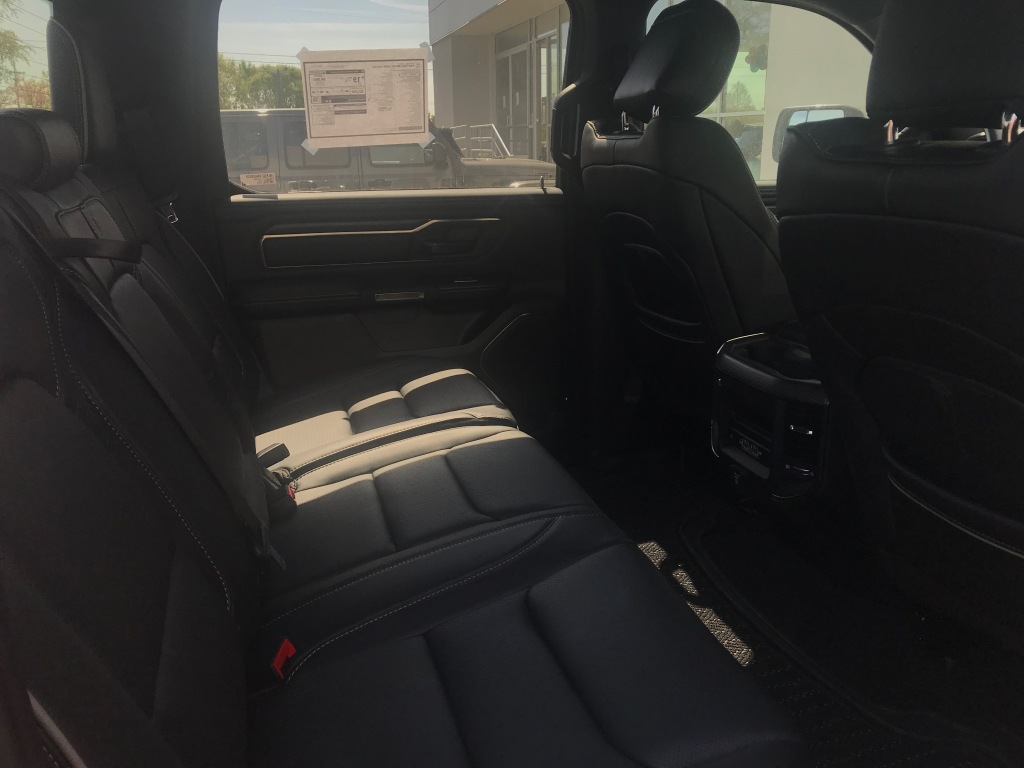Ram 1500 Limited Crew Cab back seat