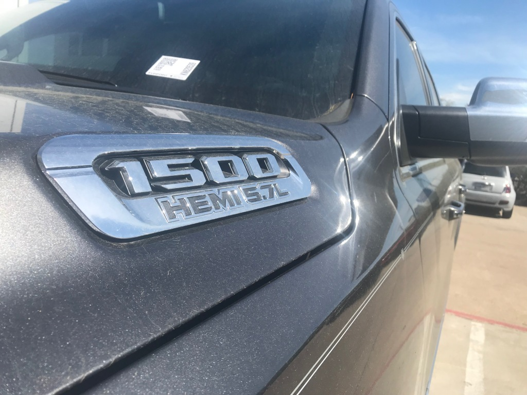 Ram 1500 Limited Crew Cab close up