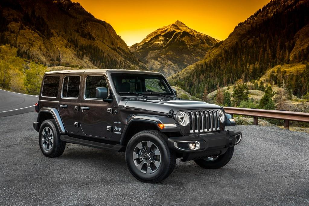 2019 Jeep Wrangler mountain view
