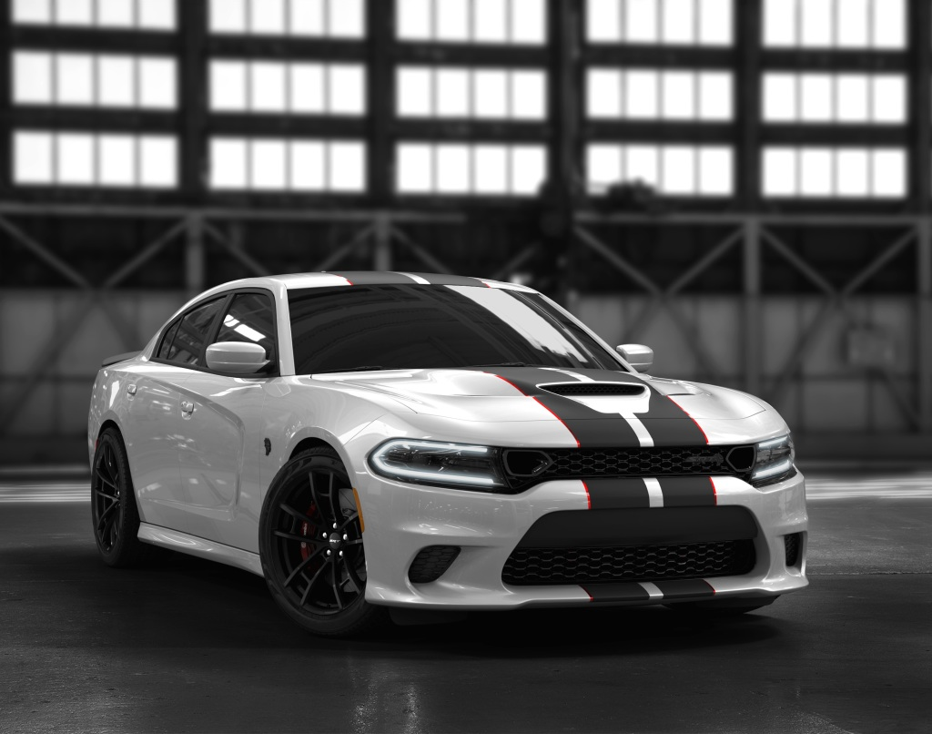 2019 Dodge Charger SRT® Hellcat Octane Edition, White Knuckle exterior