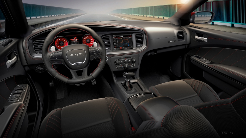2019 Dodge Charger SRT® Hellcat Octane Edition interior