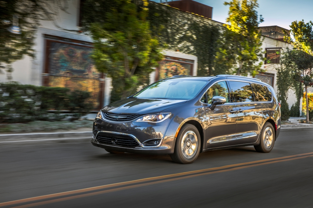 2019 Chrysler Pacifica summer vacation
