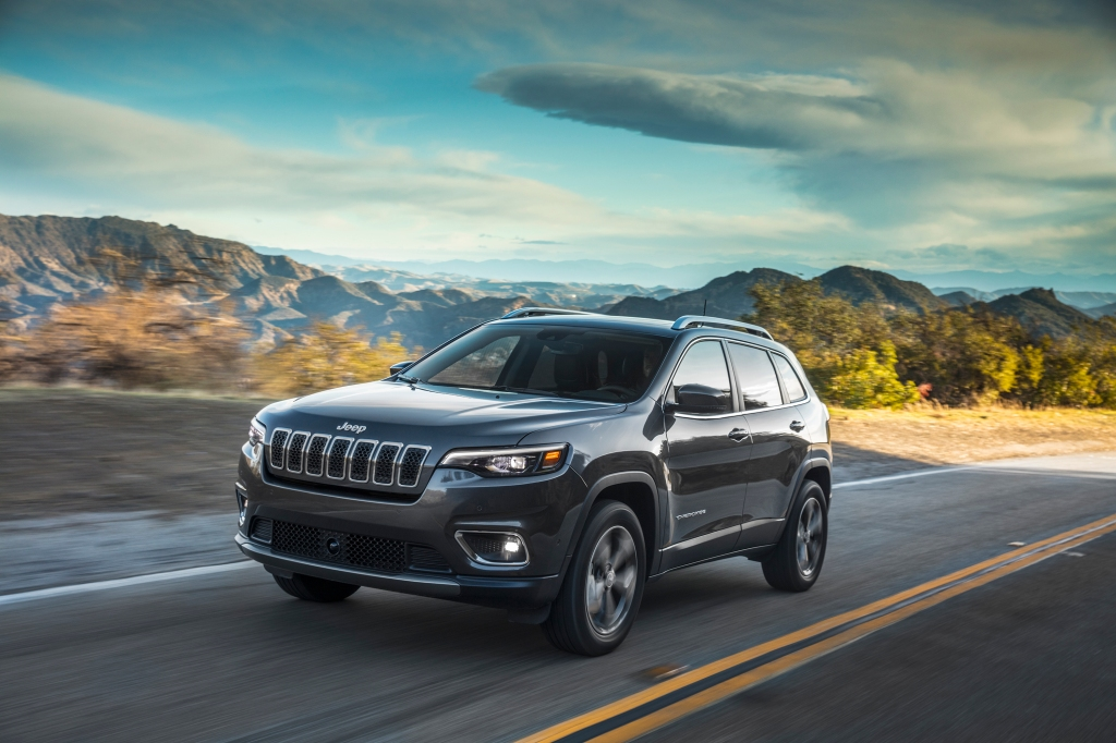 2019 Jeep Cherokee summer vacation