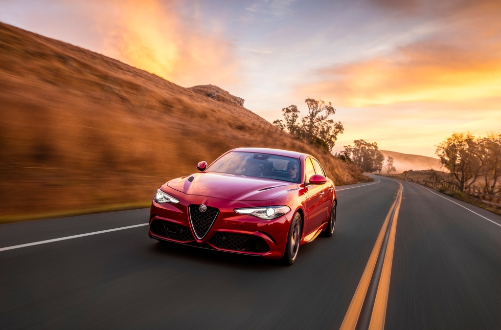 2019 Alfa Romeo Giulia Quadrifoglio summer vacation