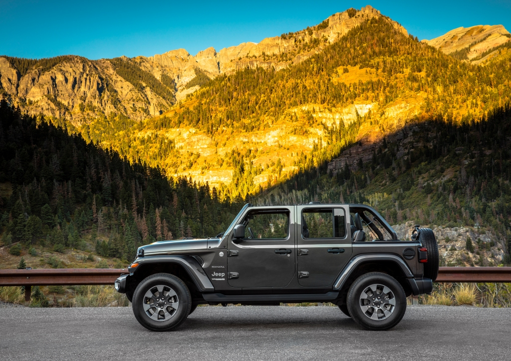 Jeep Wrangler back to school