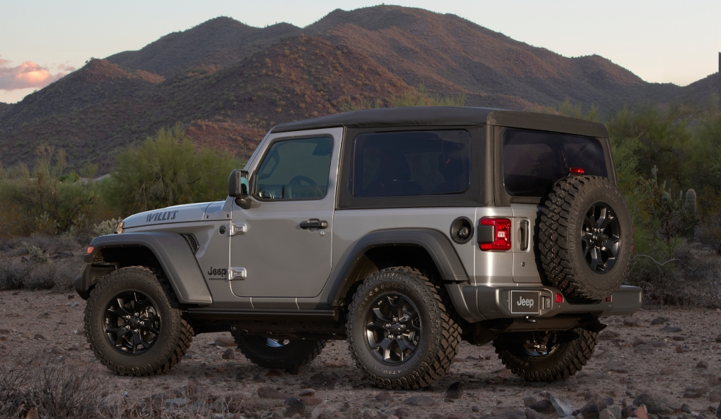 Special edition Jeep Wrangler Willys