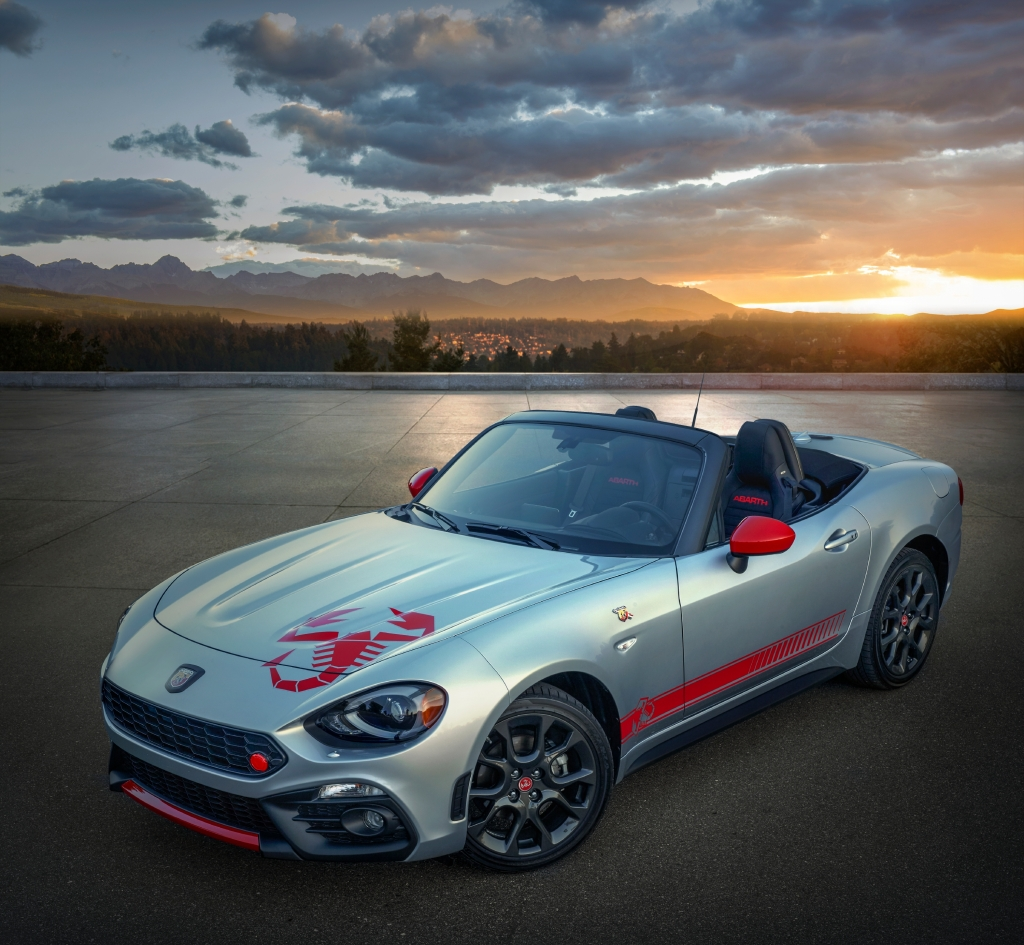 FIAT 124 Spider Abarth Scorpion Sting