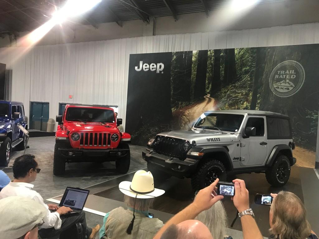 Jeep Wrangler EcoDiesel Texas State Fair