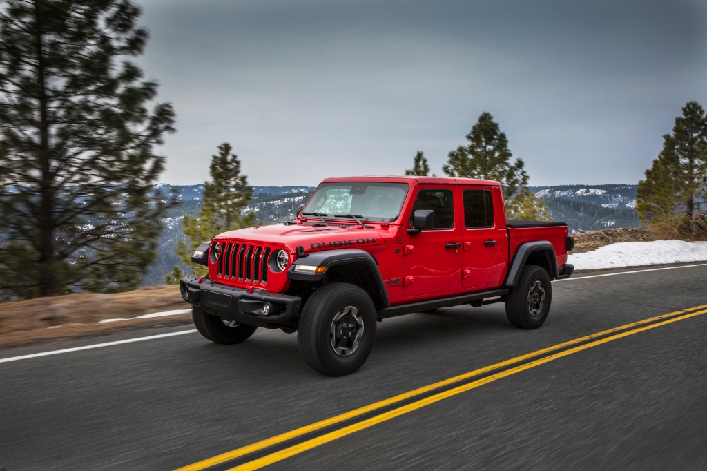 Jeep Gladiator record sales 2019