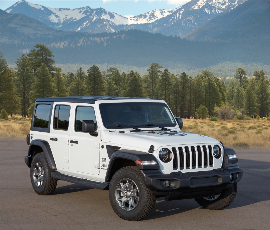 2020 Jeep Wrangler Best Resale Value