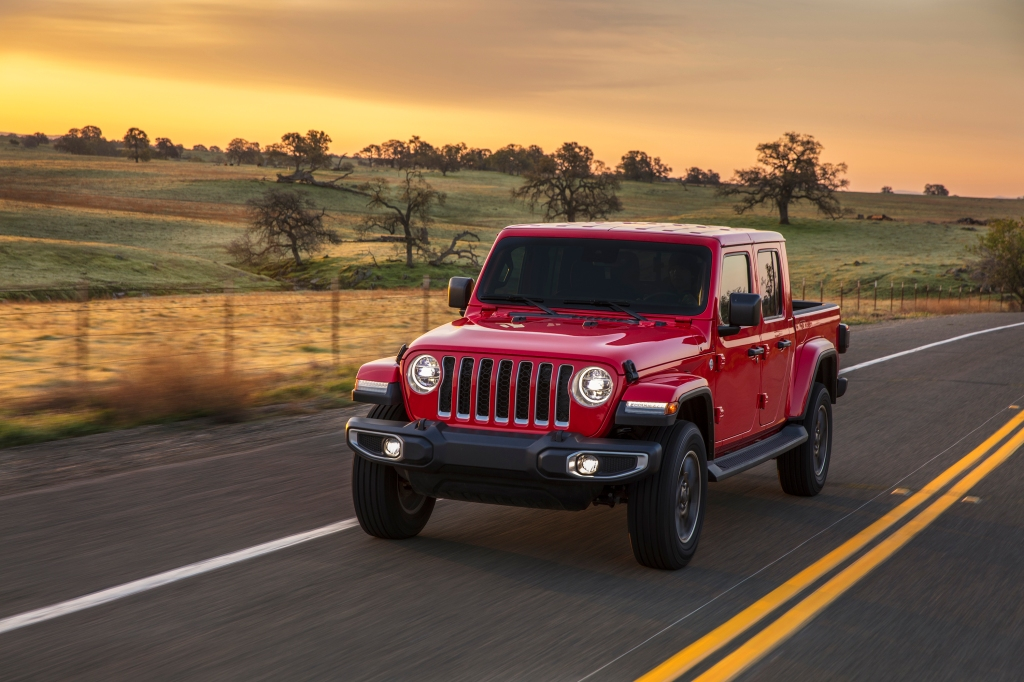 2020 Jeep Gladiator Best Resale Value