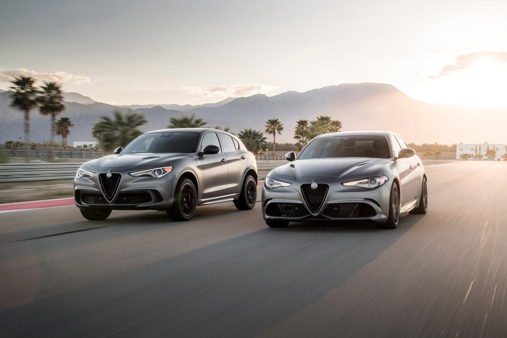 Alfa Romeo spring break road trip