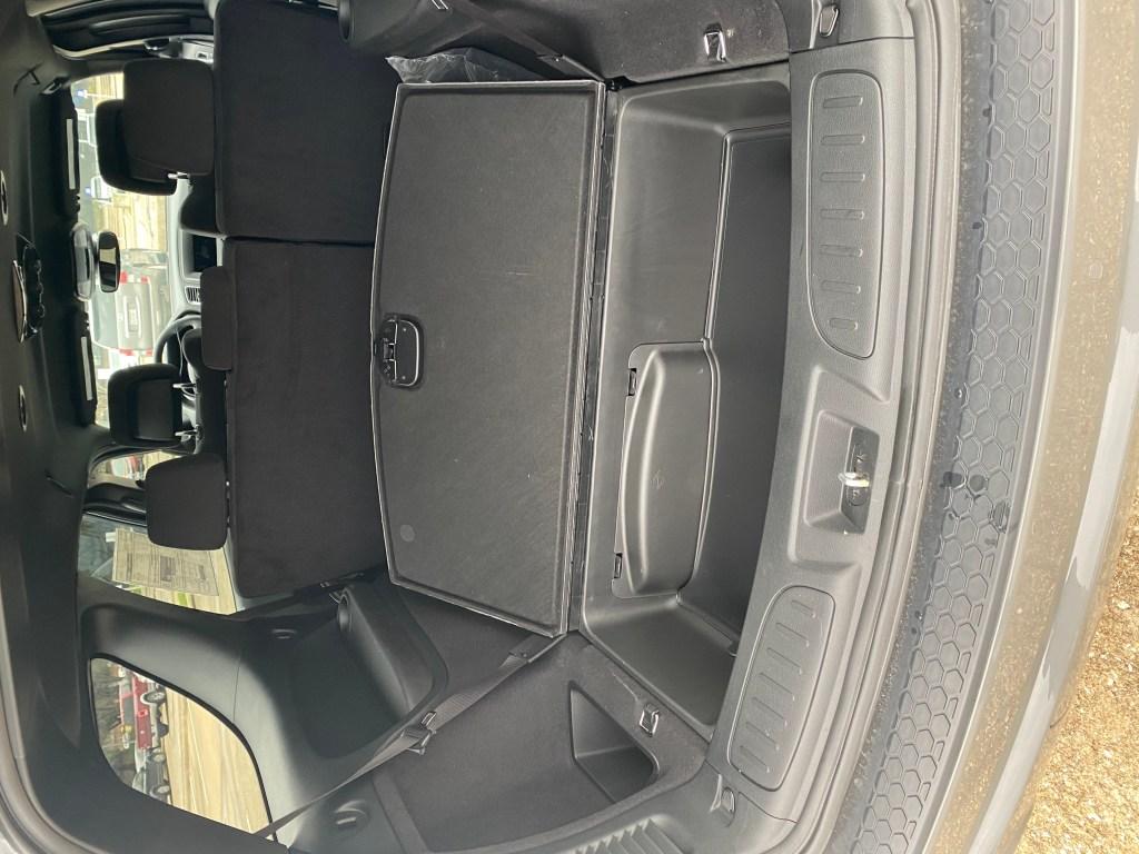 2020 Dodge Durango storage space