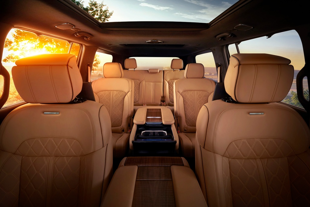 All-new Grand Wagoneer front cabin